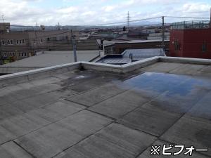 屋根防水修繕工事その1(施行前)