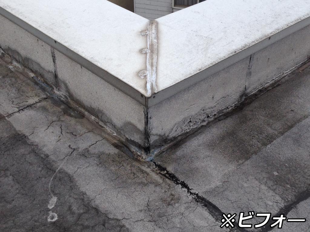 屋根防水修繕工事その2(施行前)